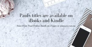 Paul's titles are now available on iBooks and Kindle-3