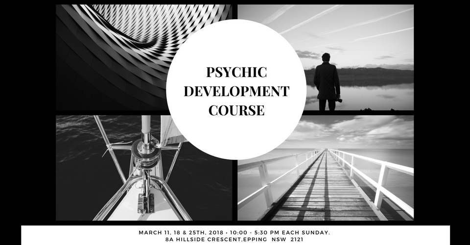 Psychic Development course 2018
